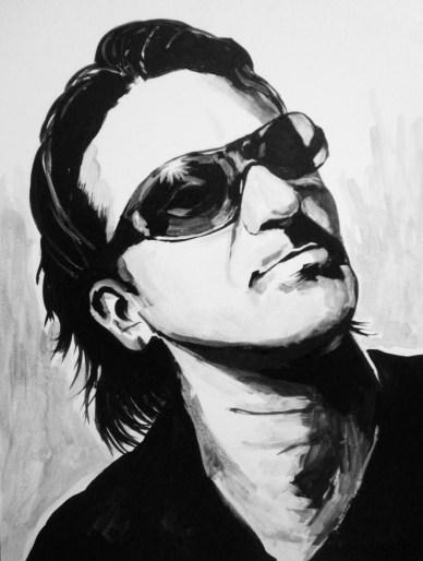 Bono Portrait