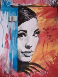 Graffitti Style Portrait