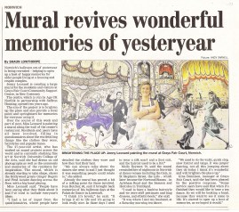 Age Norfolk Mural Project Eastern Daily Press
