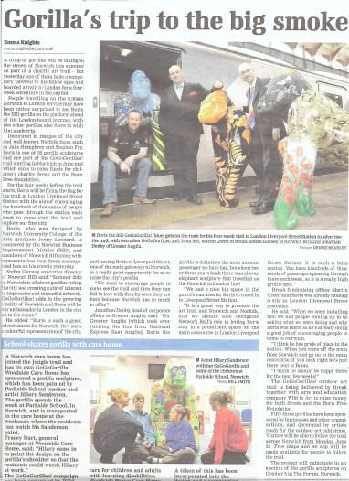 gorilla in london article