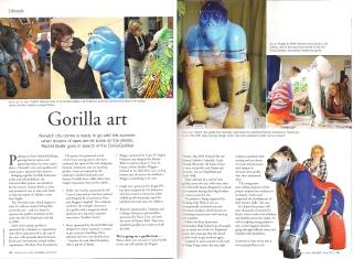 Gorilla Norfolk Magazine Spread Jenny Leonard