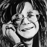 Janis Joplin Painting