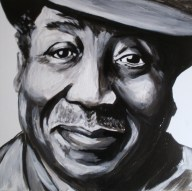 Muddy Waters Portrait