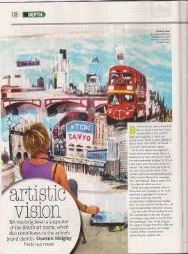 British Airways Magazine