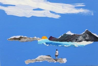 Jenny Leonard. Sea 30x20cm
