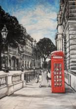 london street painting
