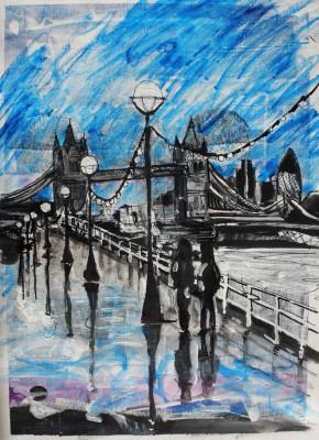 Tower Bridge Painting