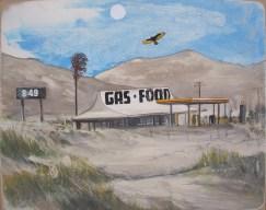 Americana Landscape Painting