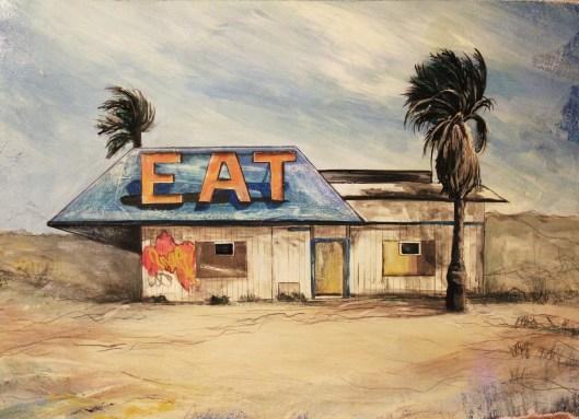 Eat - 50 x 70cm. Jenny Leonard