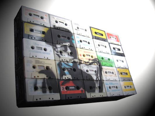 Cassette tapes art
