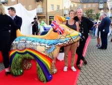 Snowdogs by the sea launch with Fat Boy Slim