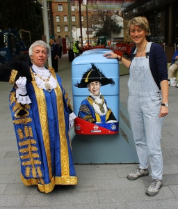 Lord Mayor Westninster and bus