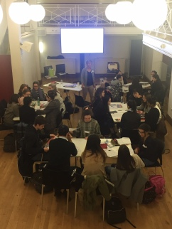 Kings Art and Activism workshop