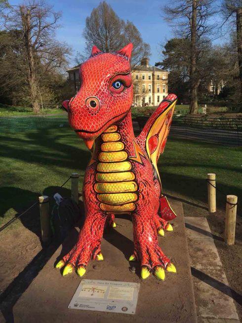 Kew Garden Dragon Jenny Leonard