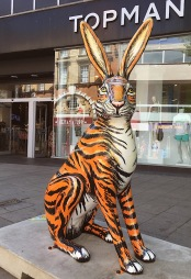 Tiger Hare Jenny Leonard Art